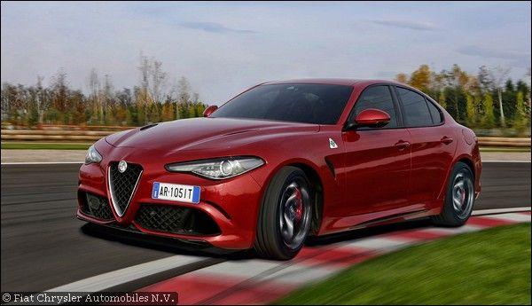 Alfa Romeo Giulia Quadrifoglio: disponibile ora anche con Cambio Automatico