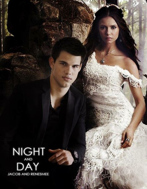 Mr. and Mrs. Edward Cullen request the honour of your presence at the marriage of their daughter Renesmee Carlie Cullen to Jacob Black son of Mr. Billy Black. Night and Day - Jacob and Renesmee - Twighlight Saga Continues  https://www.fanfiction.net/s/11983810/1/Jacob-and-Renesmee-Night-and-Day-Twilight-Saga