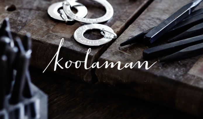 Koolaman brand identity, created by Truly Deeply.