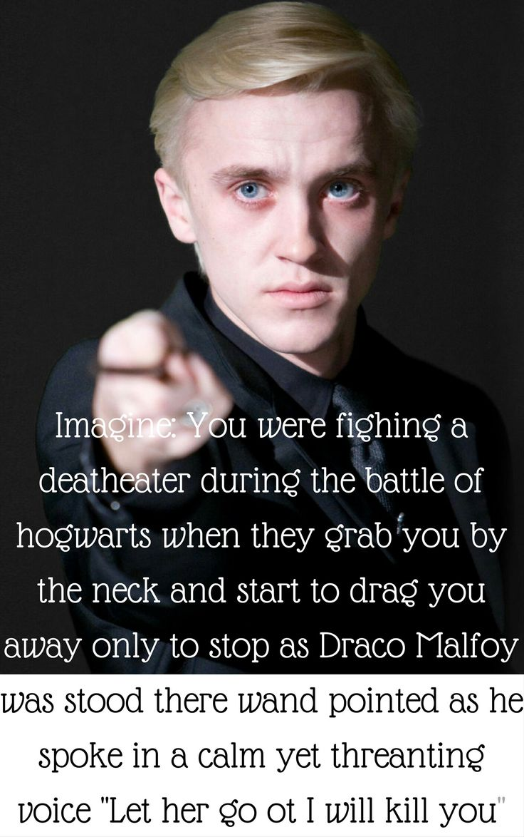 A Draco Malfoy Imagine