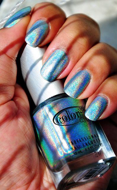 Blue Heaven - Color Club Holographic Nail Polish | Flickr – Compartilhamento de fotos!