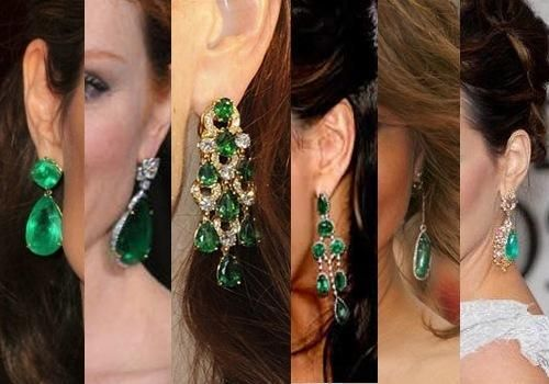 #gift for #valentines! #emerald #earrings