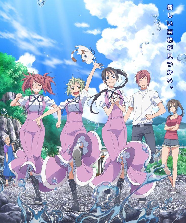 Eri Suzuki y Ai Kayano pondrán el ending del Anime Amanchu!.