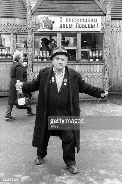 05-03 Syktyvkar. Komi Republic. Russia. A war veteran during the... #syktyvkar: 05-03 Syktyvkar. Komi Republic. Russia. A war… #syktyvkar