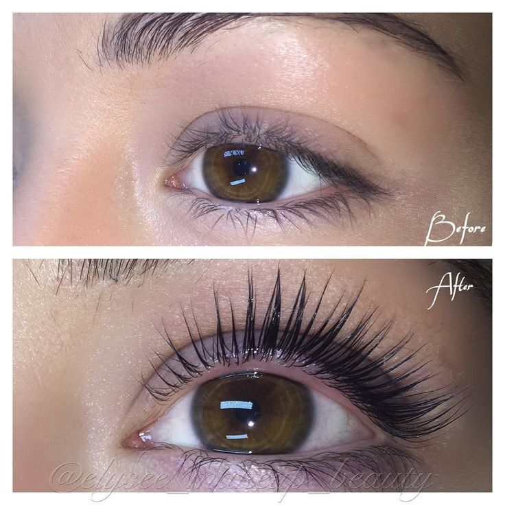 """❌THIS IS NOT LASH EXTENSIONS❌ What a different Keratin Lash Lift Make !! imagine waking up like this."