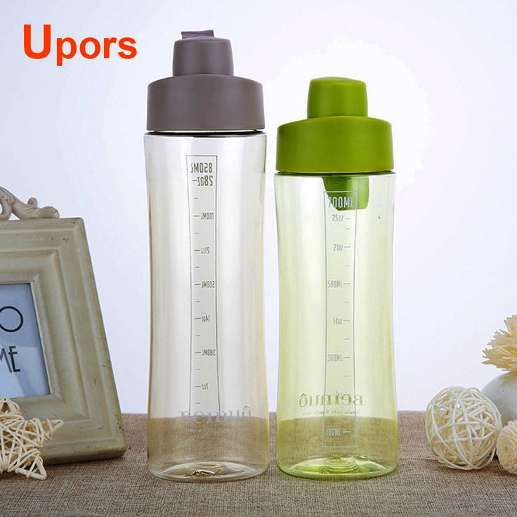 Hot Sale Camping Equipment And Bicycle Water Bottle For School Sport Office Health Plastic Water Bottle BPA Free 850ml