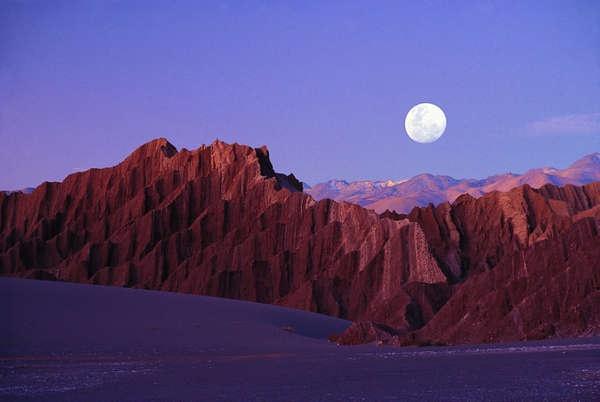 Valle de la Luna, Atacama desert. Chile