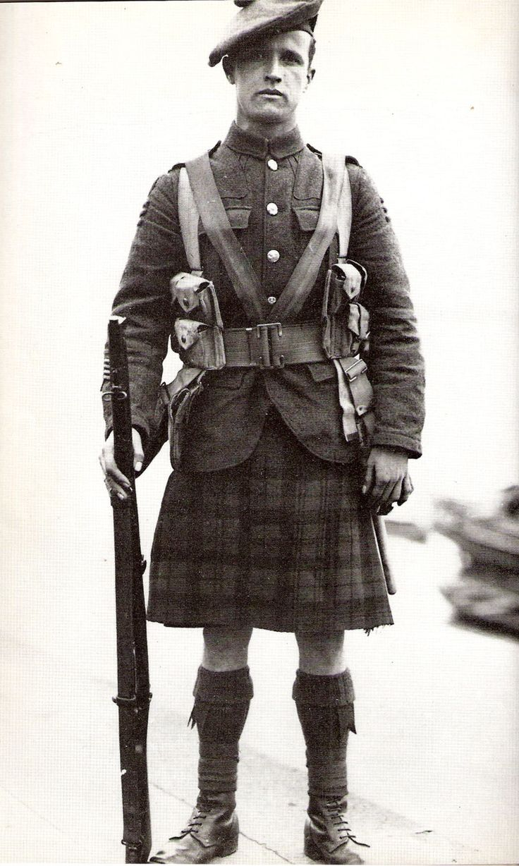 A history of the black watches a famous scottish army command