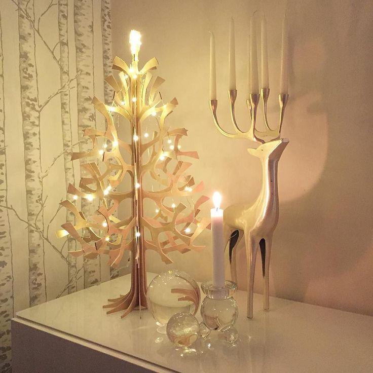 Modern jul blir det här hemma i år alltså! Vad tycks? #jul #joulu #christmas…