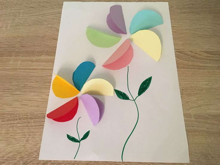 Bunte Frühlingsblumen aus Papier – Basteln mit Ki…