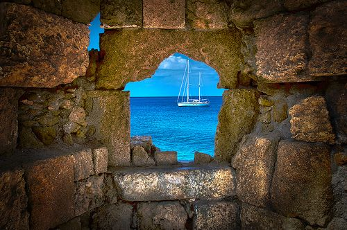 Rhodes, Greece. I've stood in this exact place!