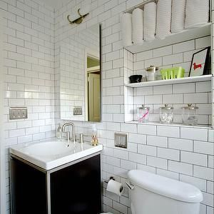 CREATE THE STORAGE NICHE ABOVE TOILET – KIDS BATH   – Moshier 111 – Bath – #bath…  – most beautiful shelves
