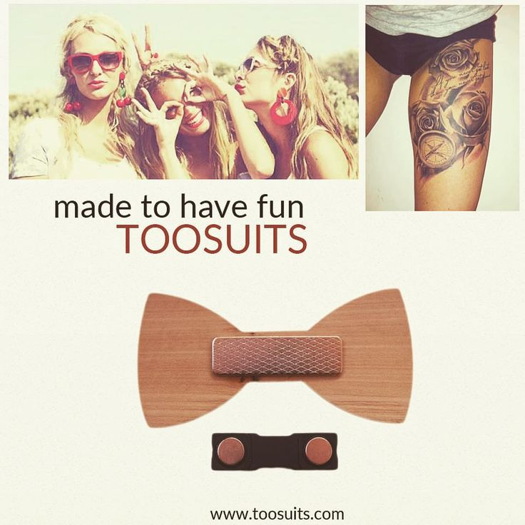 Made to have fun. www.toosuits.com #toosuits #bowtie #papillon #wood #onepapillonatday #fun #girls #tattoo #art #madeinitaly #colorful #fashion #cool #wearme #wearone #elegance #smart #любовь #галстукбабочка #мода #папиллон #havefun #musthave #mustfollow #onebowtie