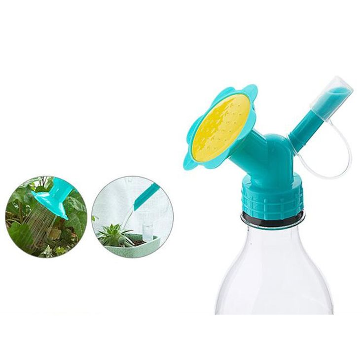 Convenient and useful  double proboscis plant watering sprinkler irrigation device shower nozzle gardening watering tools.