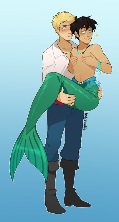 Anon told me about the Mermaid Parade in Coney Island and they're totally right, Percy would definitely want to participate 100%. And dress up while he's at it. And drag Jason because someone needs to carry him around.