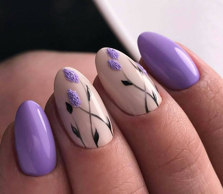 Best Lilac Nails Ideas On Pinterest