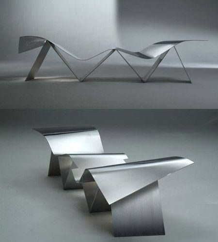 Tuyomyo Bench by Frank Gehry | Polos Furniture