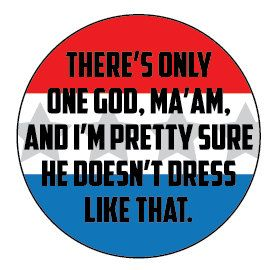Such a funny moment in The Avengers!  There's only one God Ma'am.... Avengers/Captain America by Catlore, $2.00