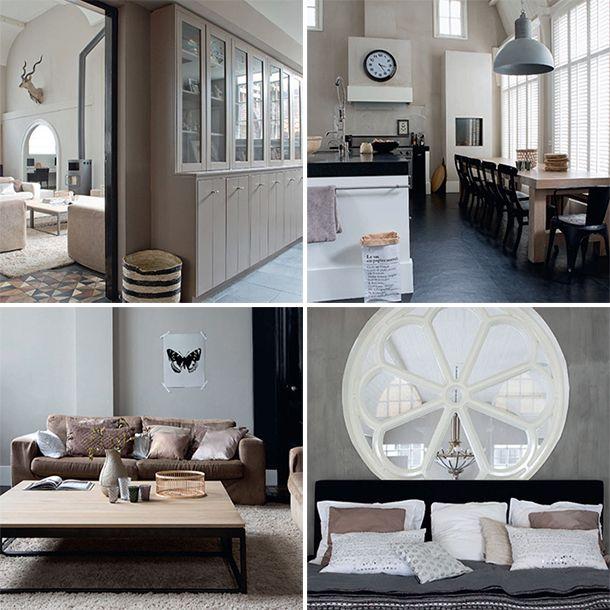 10 beste idee n over zwarte accenten op pinterest douche ruimtes interieurontwerp keuken en - Tweekleurige keuken ...