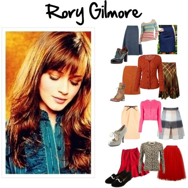 Rory Gilmore Skirt Outfits by beth-johnson-anderson on Polyvore featuring Fat Face Modstru00c3u00b6m ...
