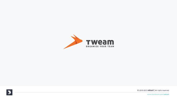 Logo design for tweam | 99designs