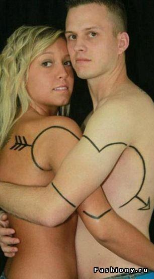 Все хочу делить с тобою поровну… Парные татуировки / эскизы парные татуировки