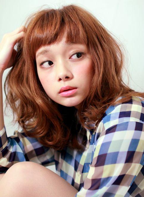 可愛い×大人ルーズなカールスタイル 【MAGNOLiA】 http://beautynavi.woman.excite.co.jp/salon/27940?pint ≪ #mediumhair #mediumstyle #mediumhairstyle #hairstyle・ミディアム・ヘアスタイル・髪形・髪型≫