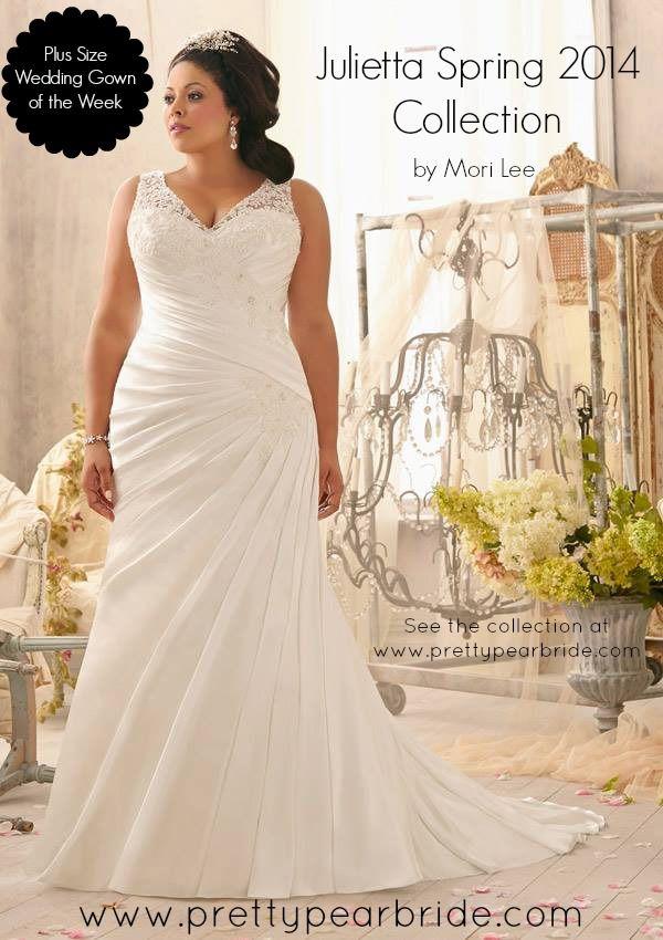 {Curvy Wedding Dress of the Week} Mori Lee ~ Julietta Spring 2014 Collection   The Pretty Pear Bride #plussizebride  #curvybride