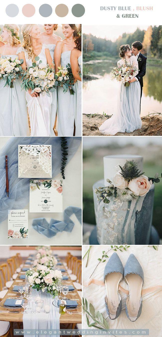 10 Stunning Wedding Colors For A Fall Wedding Blush