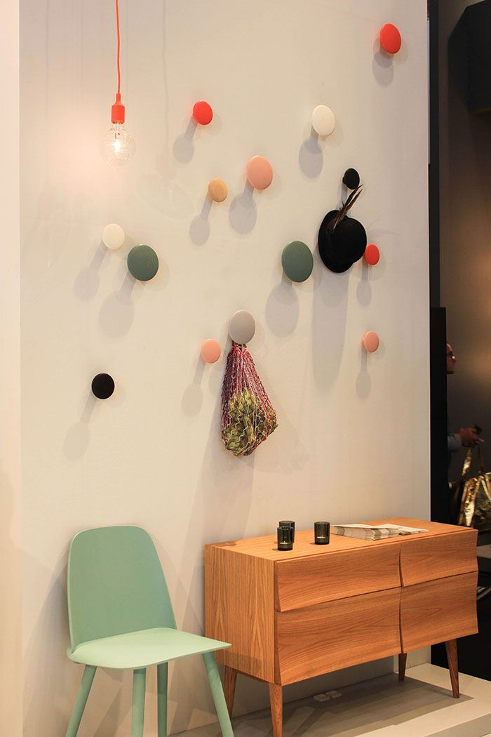 Shop the Muuto The Dots Coat Hooks at http://www.nest.co.uk/product/muuto-the-dots-coat-hooks
