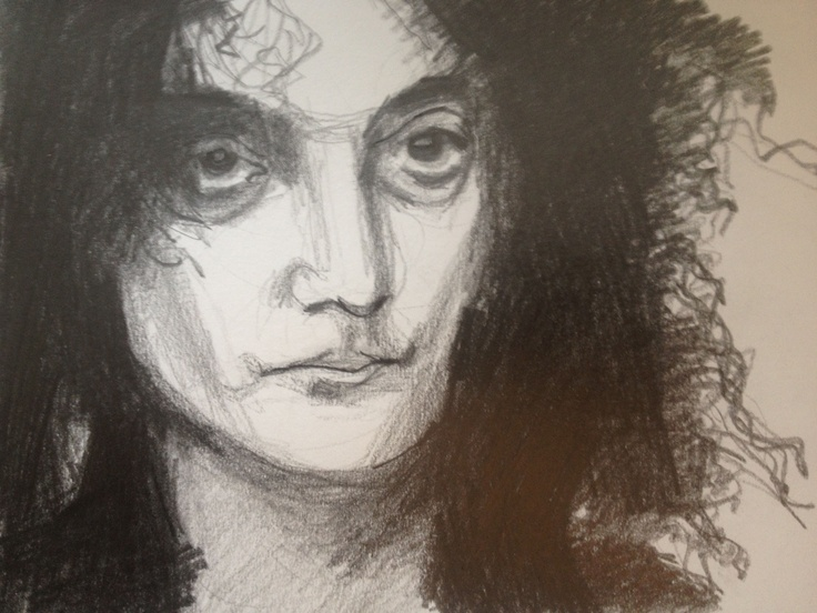 Pencil Drawing. Jerry Sadowitz.