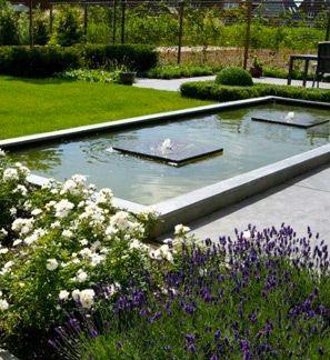 77 beste afbeeldingen over water in de tuin op pinterest for Spiegelvijver bak