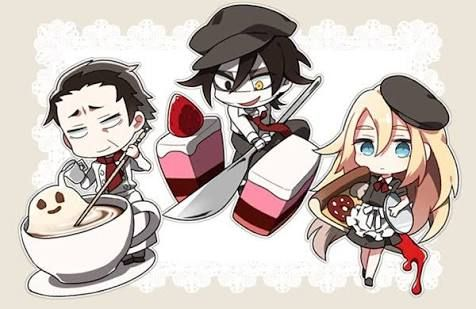 Angels of Death Fanart Ray, Zack and Grey
