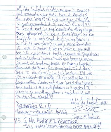 best pac poems images pac poems tupac shakur  tupac shakur essay tupac shakur s handwritten letter is going up for for