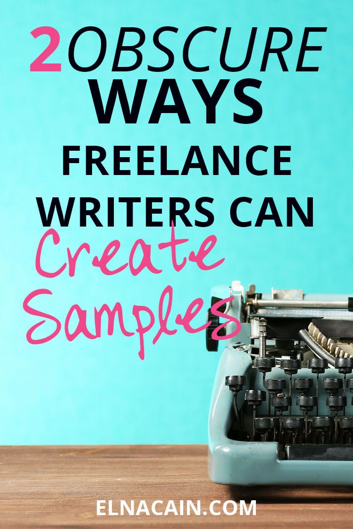 If you're a new writer and don't know how to create your freelance writing portfolio, I have two very easy ways. And it'll make you look like a pro too! | freelance writing tips | freelance writing samples | freelance writing jobs
