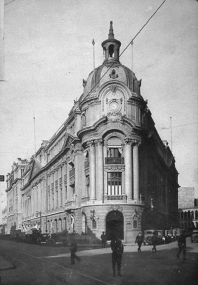 """""""Bolsa de comercio"""" (ca 1920-1930), Santiago."""