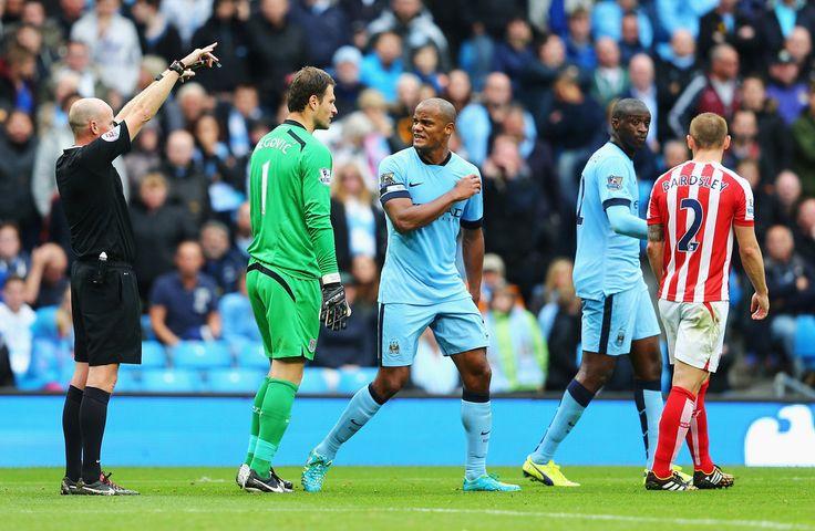 Vincent Kompany - Manchester City v Stoke City 30th August 2014 #MCFC #SCFC #EPL