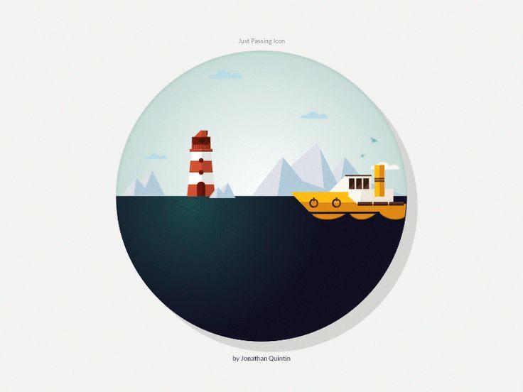 Just Passing Icon | Designer: Jonathan Quintin | Animator: Seth Eckert