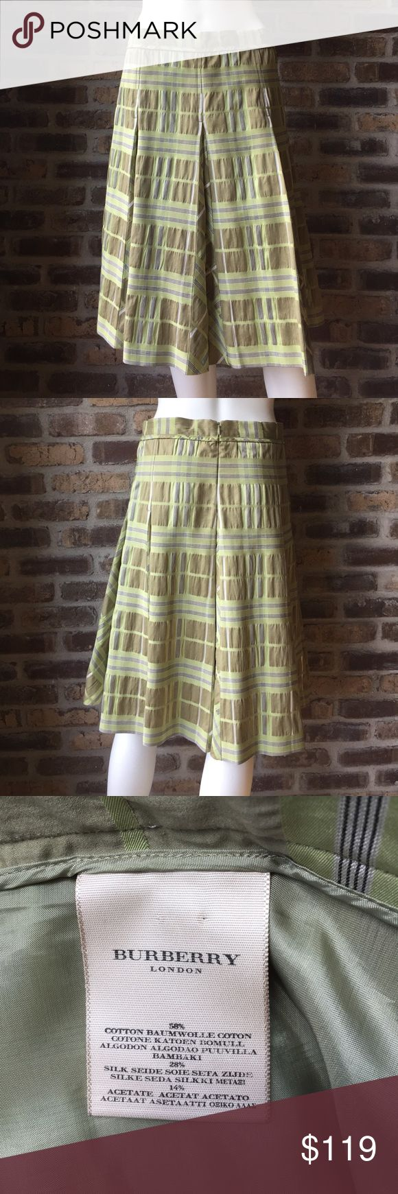 Burberry Skirt Women's size 10 Burberry London made in Italy skirt. It has been worn. Burberry Skirts A-Line or Full
