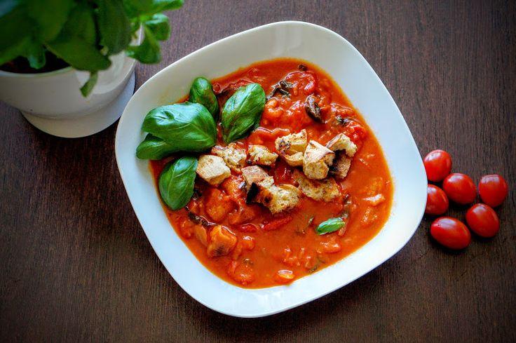 Fit & Fast Kitchen: Toskańska zupa pomidorowa