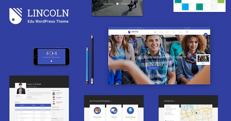 Lincoln is our best WordPress theme release using material design for Education & Learning Centers which will surely amaze you with many powerful features. Though it is perfect for education industry, yet it's still flexible enough to be used for business website and creative digital agencies. #WordPress #Education #Theme #MaterialDesign