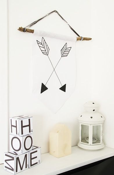 DIY: Banderín flechas cruzadas