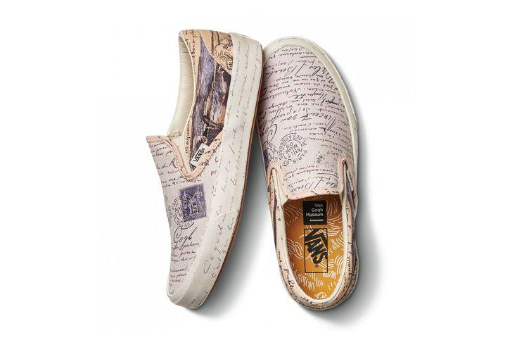 The Vincent Van Gogh Museum Taps Vans For Elegant Capsule Collaboration Vans Dress Shoes Men Shoes