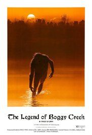 The Legend of Boggy Creek ….I love the guys voice that narrates this Bigfoot movie.