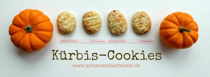 Saftige Kürbis-Cookies - mit würzigem Ingwer, Kardamom und Zimt