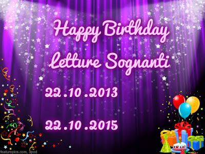 Letture Sognanti: Giftaway 2° compleanno Letture Sognanti