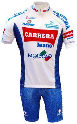 29c0ca7a1 Carrera White Retro HZ Jersey