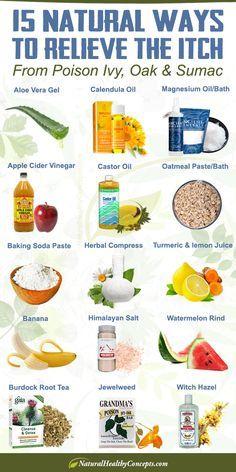 15 Remedies for Poison Ivy-Oak-Sumac