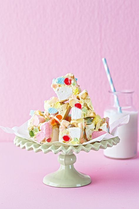 A different take on rocky road