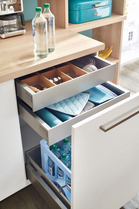Keuken i binnen lade i lade indeling i keuken interieur idee n pinterest - Keuken indeling ...